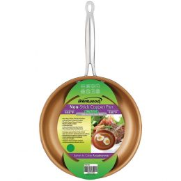 Brentwood Nonstick Induction Copper Fry Pan