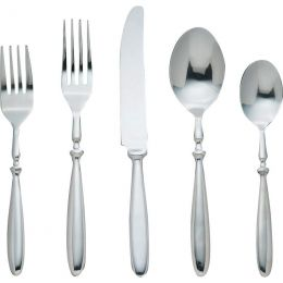 Nikita 20pc 18/8 Stainless Steel Flatware Set