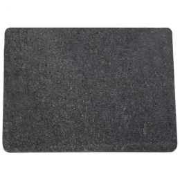 HealthSmart Polished Gray and Black Granite Cutting Board
