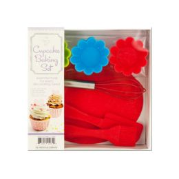 Silicone Cupcake Baking Set